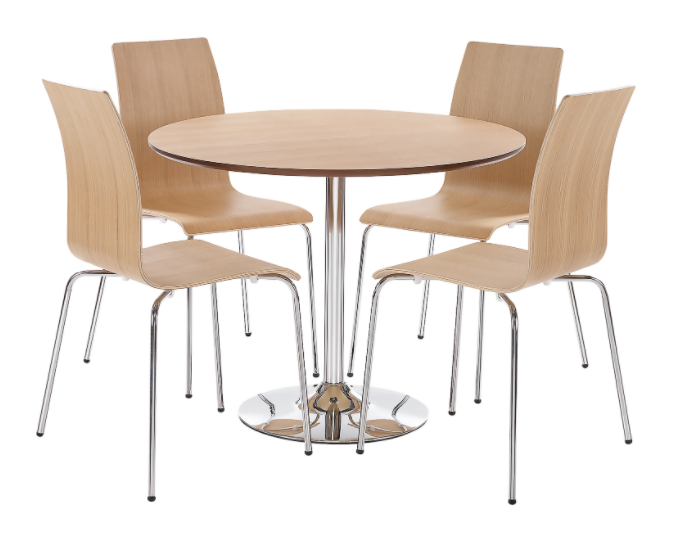 Soho 4 Seat Dining Set