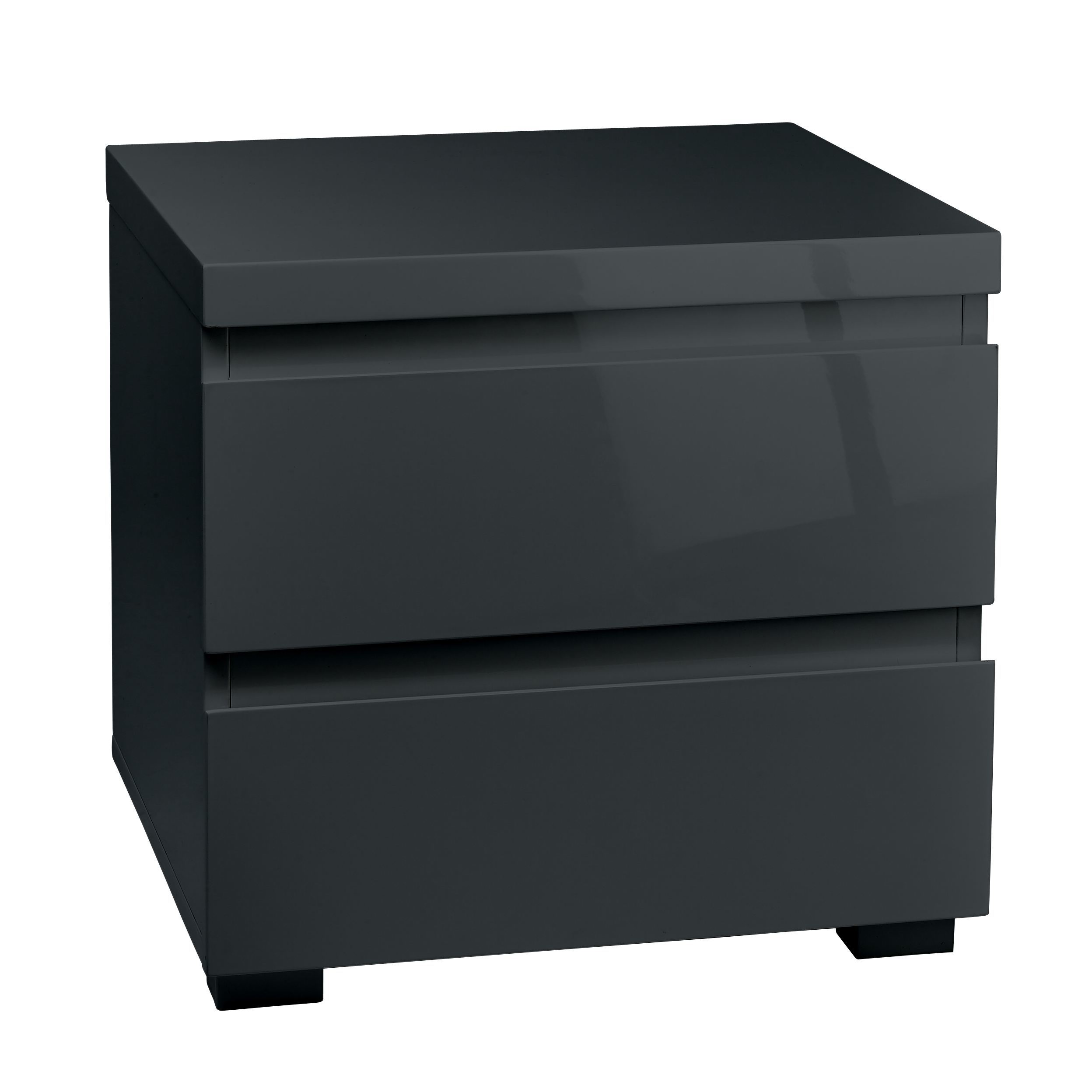 Puro 2 Drawer Bedside