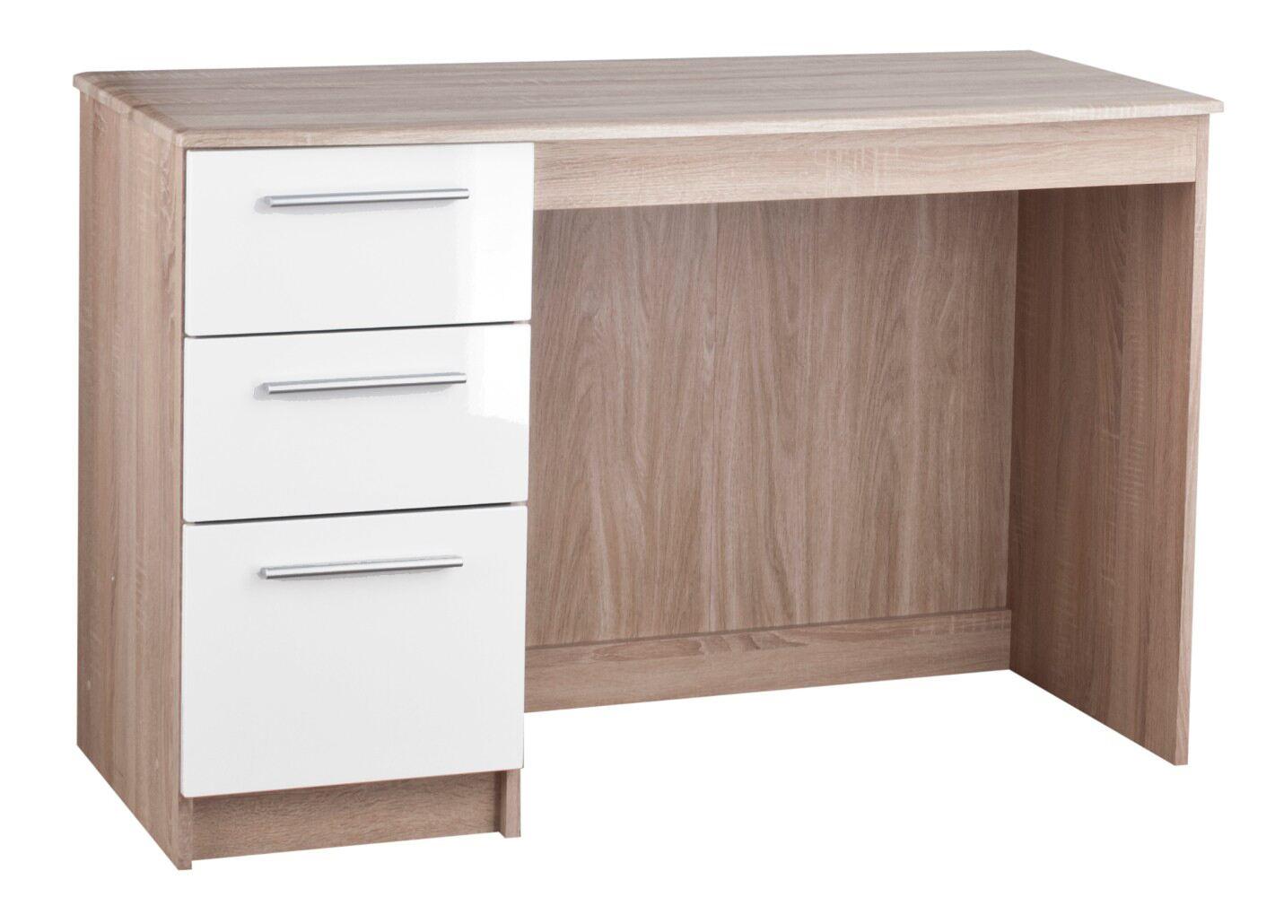 Rural 3 Drawer Desk